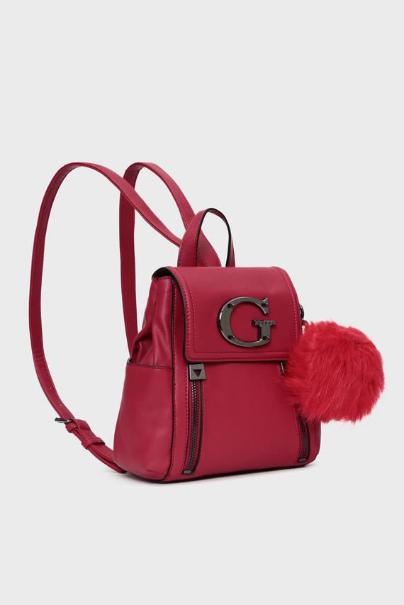Женский красный рюкзак KAROLA