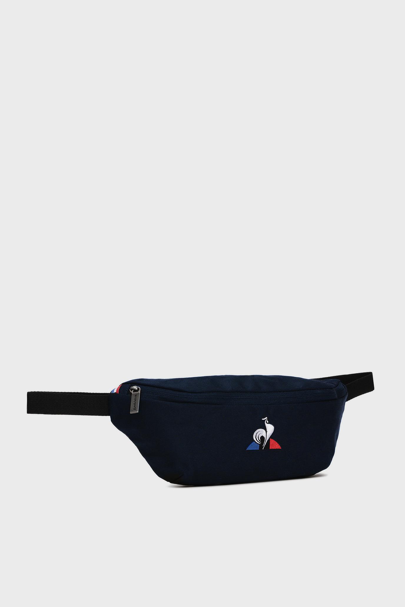 Мужская темно-синяя поясная сумка Le Coq Sportif