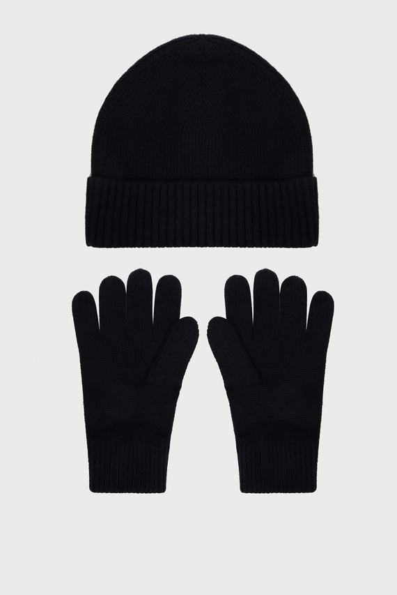 Мужской комплект аксессуаров (шапка, перчатки) PIMA COTTON