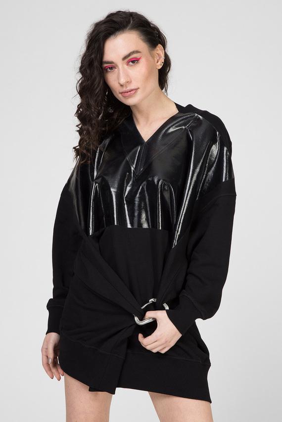 Женское черное платье D-KESAR