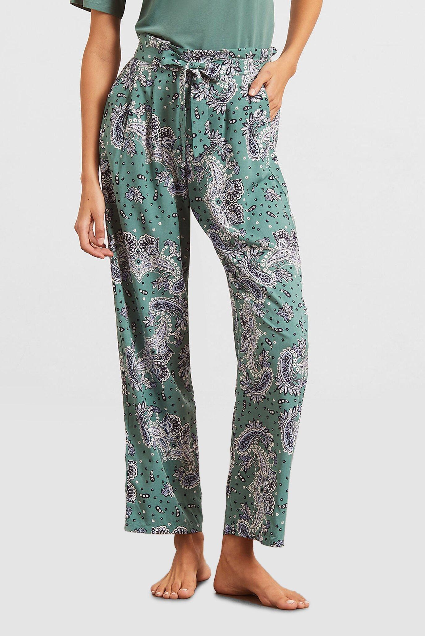 Женские зеленые брюки BASSANA 1