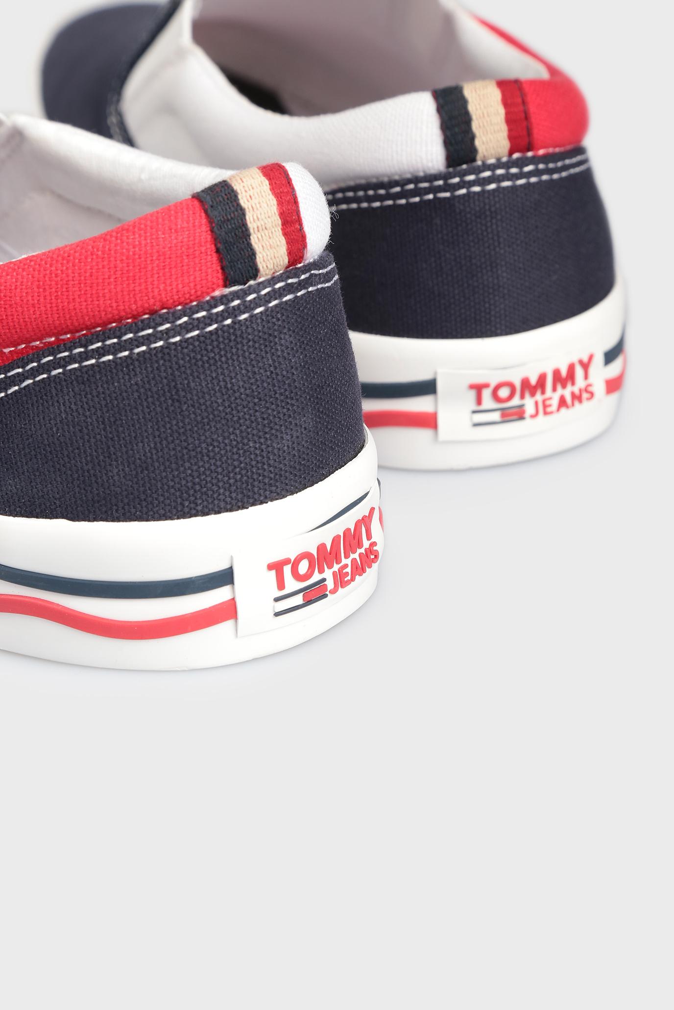 9ff9b6ebfb8e Купить Мужские темно-синие слипоны Tommy Hilfiger Tommy Hilfiger ...