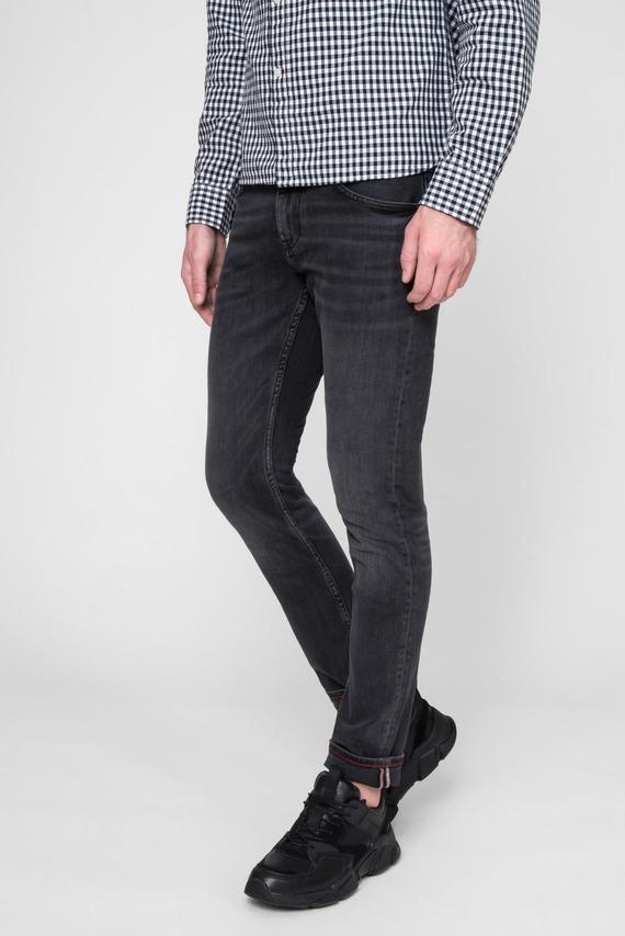 Мужские черные джинсы SLIM BLEECKER STR