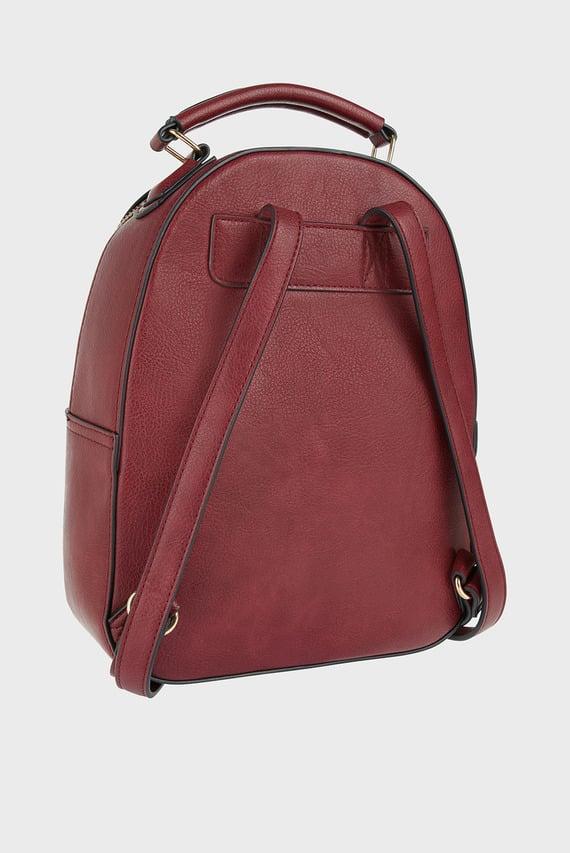 Женский бордовый рюкзак TOMMIE MIDI DOME BAC