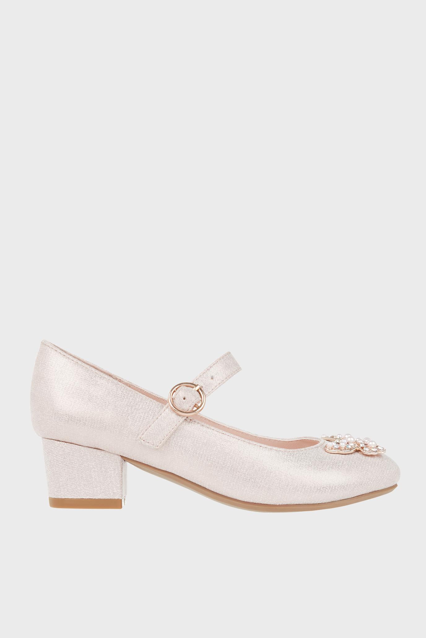 Детские розовые туфли VENITA SHOE 1