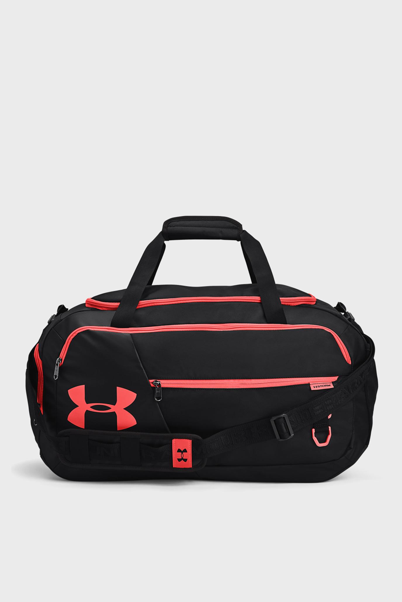Чорна спортивна сумка UA Undeniable 4.0 Duffle MD-BLK 1