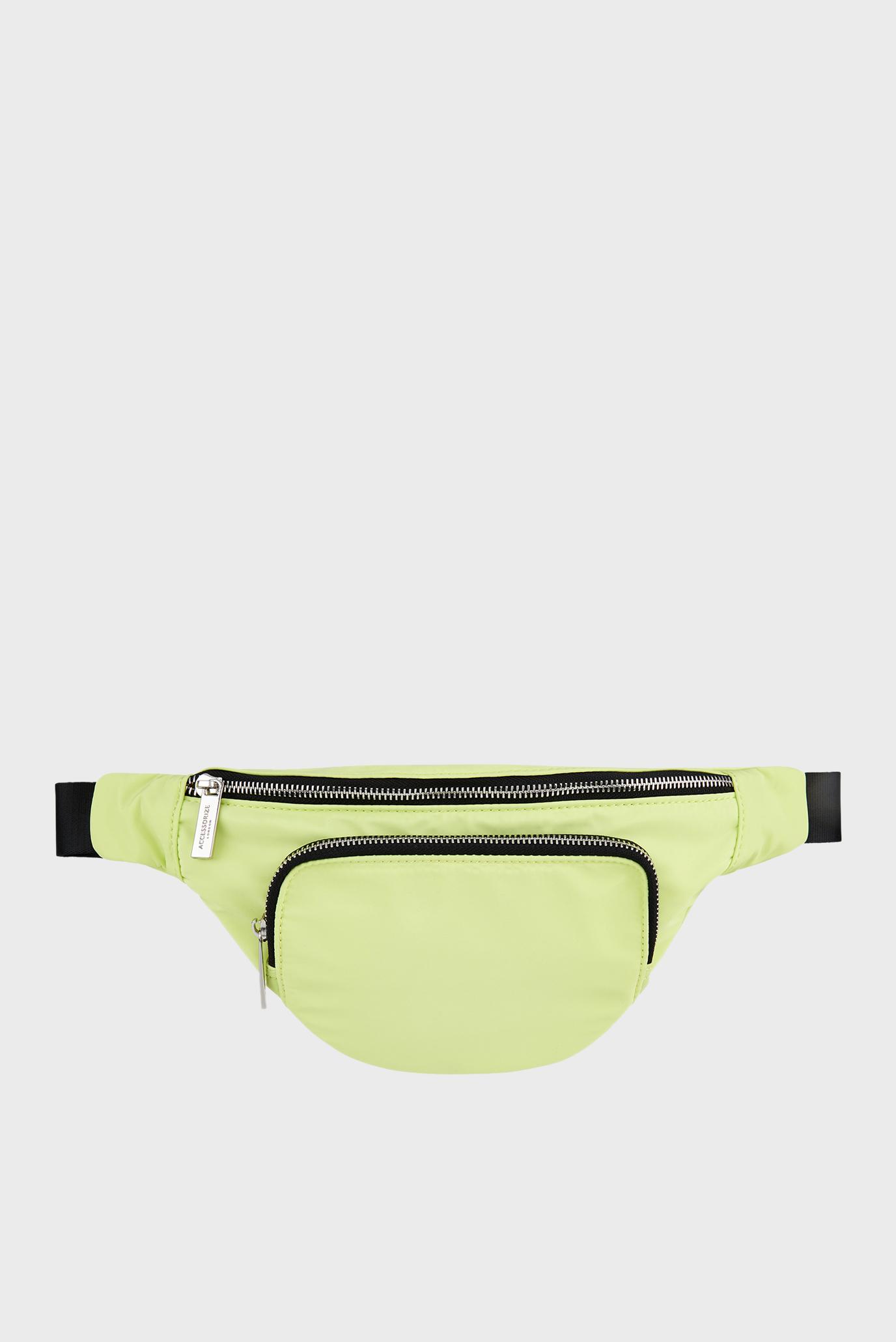 Жіноча зелена поясна сумка Lime Bumbag 1