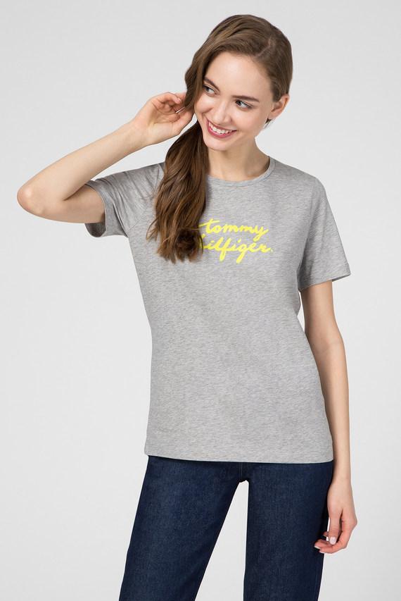 Женская серая футболка PENNY C-NK