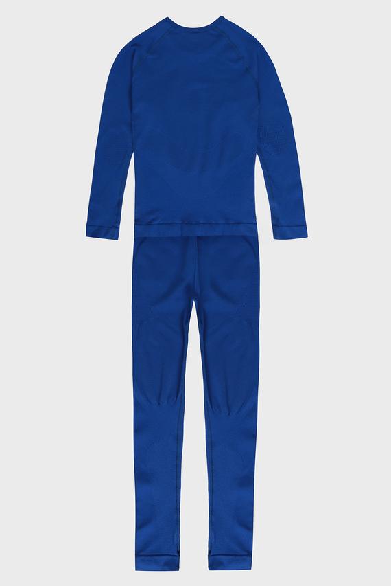 Детское синее термобелье (лонгслив, брюки) Maximum Warm