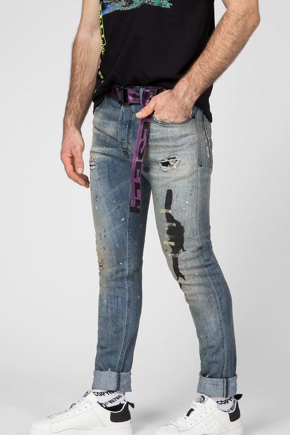 Мужские синие джинсы TEPPHAR-X