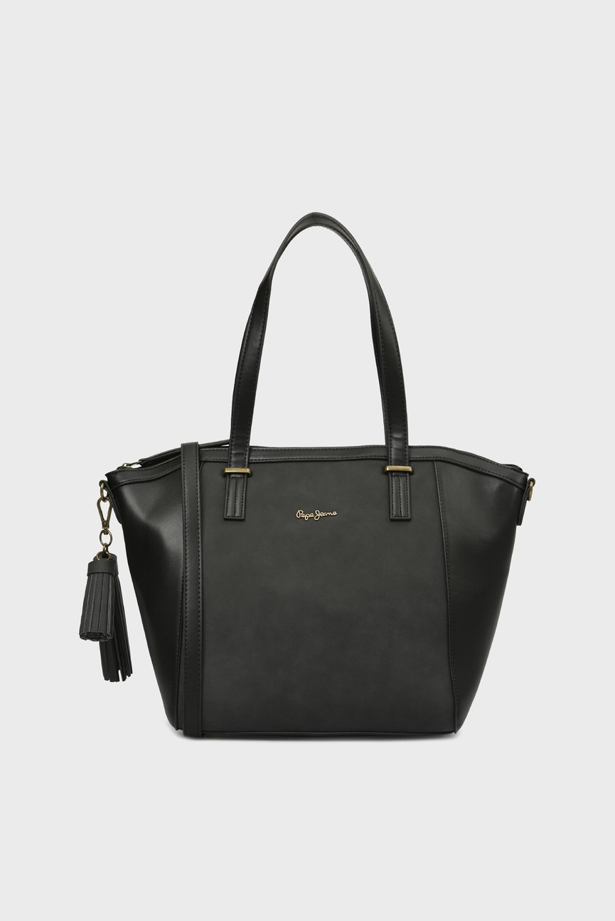 Женская черная сумка на плечо BITMAT