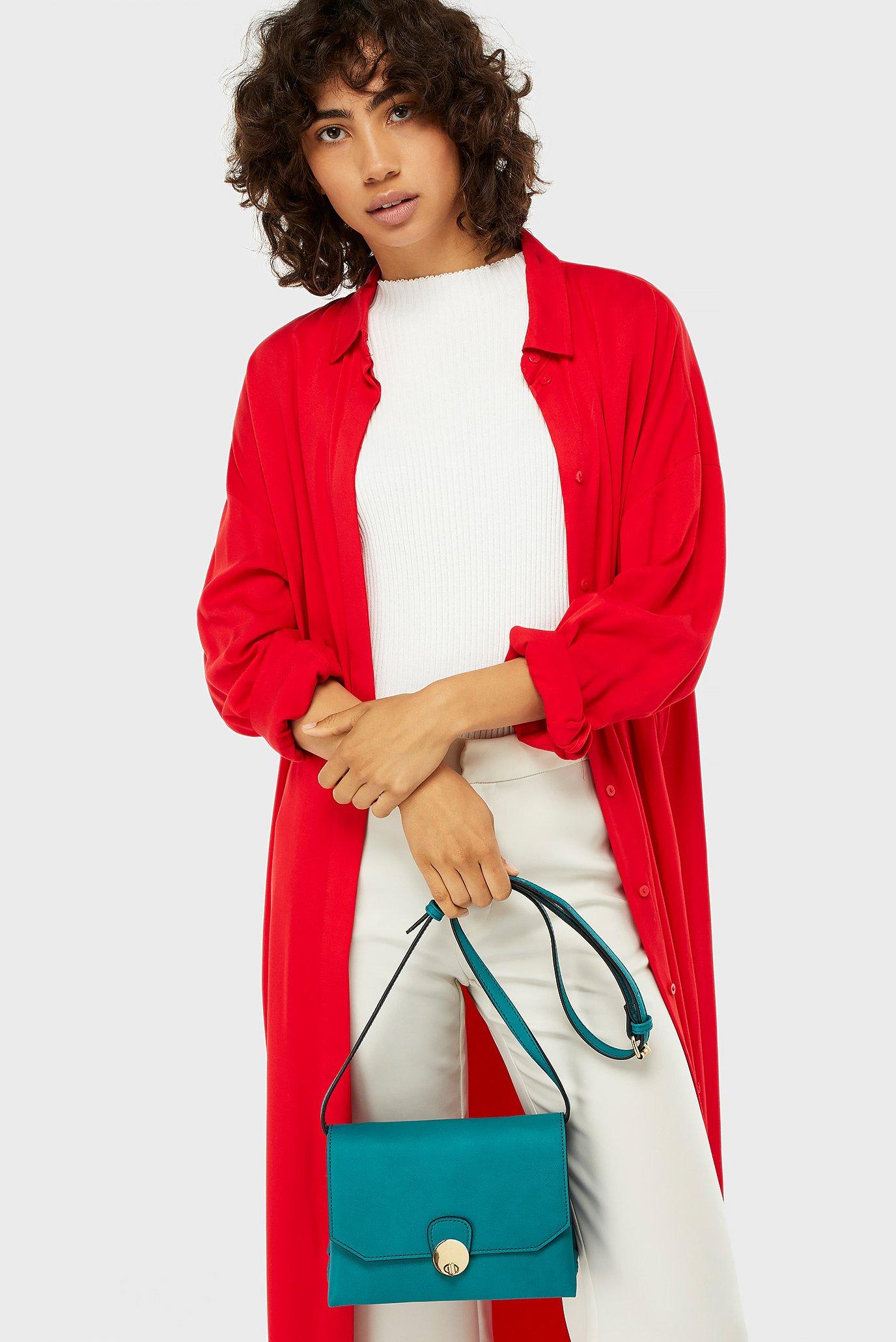 Купить Женская бирюзовая сумка через плечо FF AMIE XBODY Accessorize Accessorize 590438 – Киев, Украина. Цены в интернет магазине MD Fashion