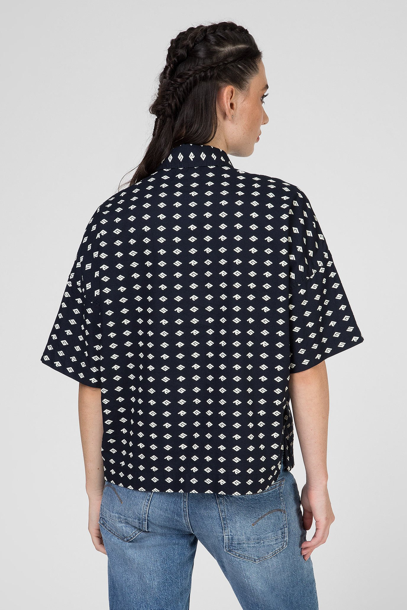 Купить Женская темно-синяя рубашка Core polo wmn s\s G-Star RAW G-Star RAW D14164,B105 – Киев, Украина. Цены в интернет магазине MD Fashion
