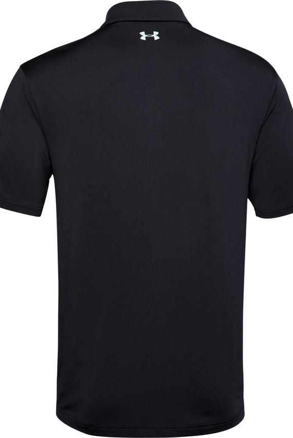 Мужское черное поло Playoff Polo 2.0
