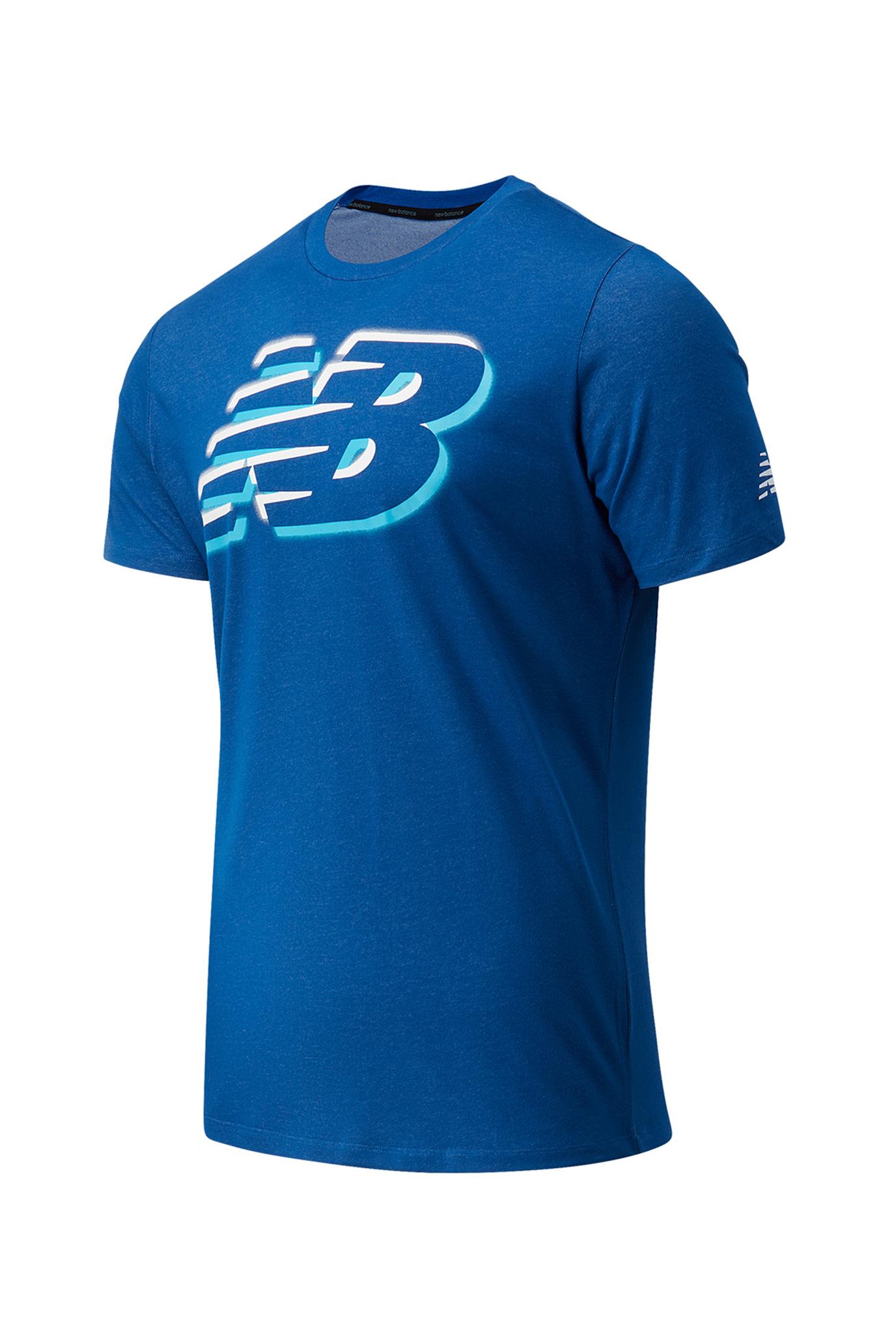 Чоловіча синя футболка Gr Heathertech 1