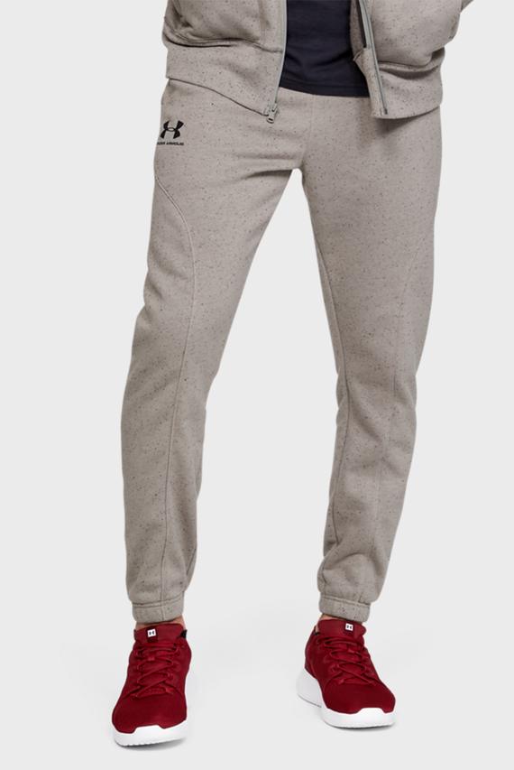 Мужские серые спортивные брюки SPECKLED FLEECE JOGGERS