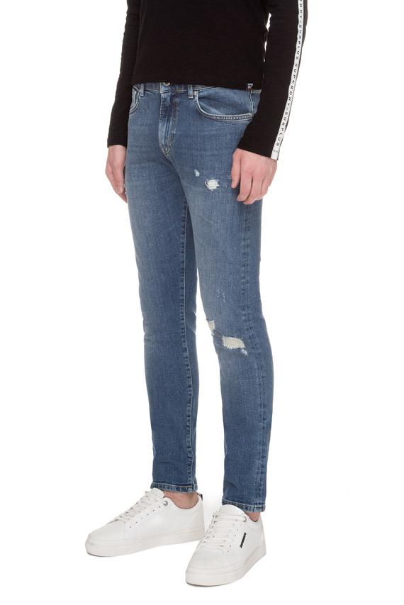 Мужские синие джинсы TYLER SLIM