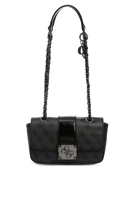 Женская темно-серая сумка на плечо