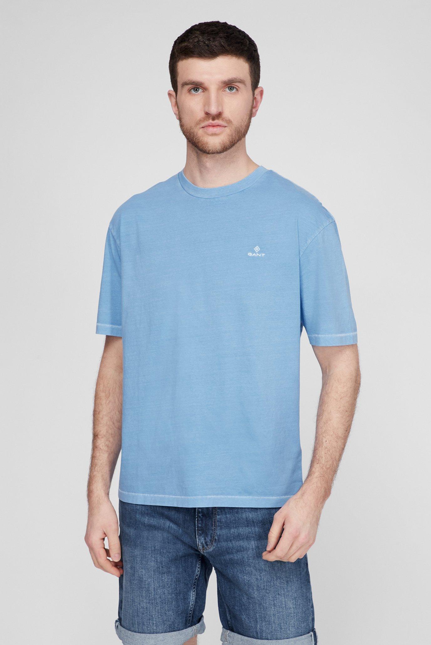 Мужская голубая футболка SUNFADED 1