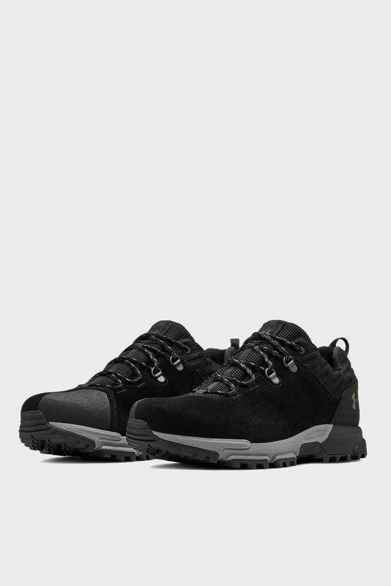 Мужские черные кроссовки для туризма Brower Low Wp City