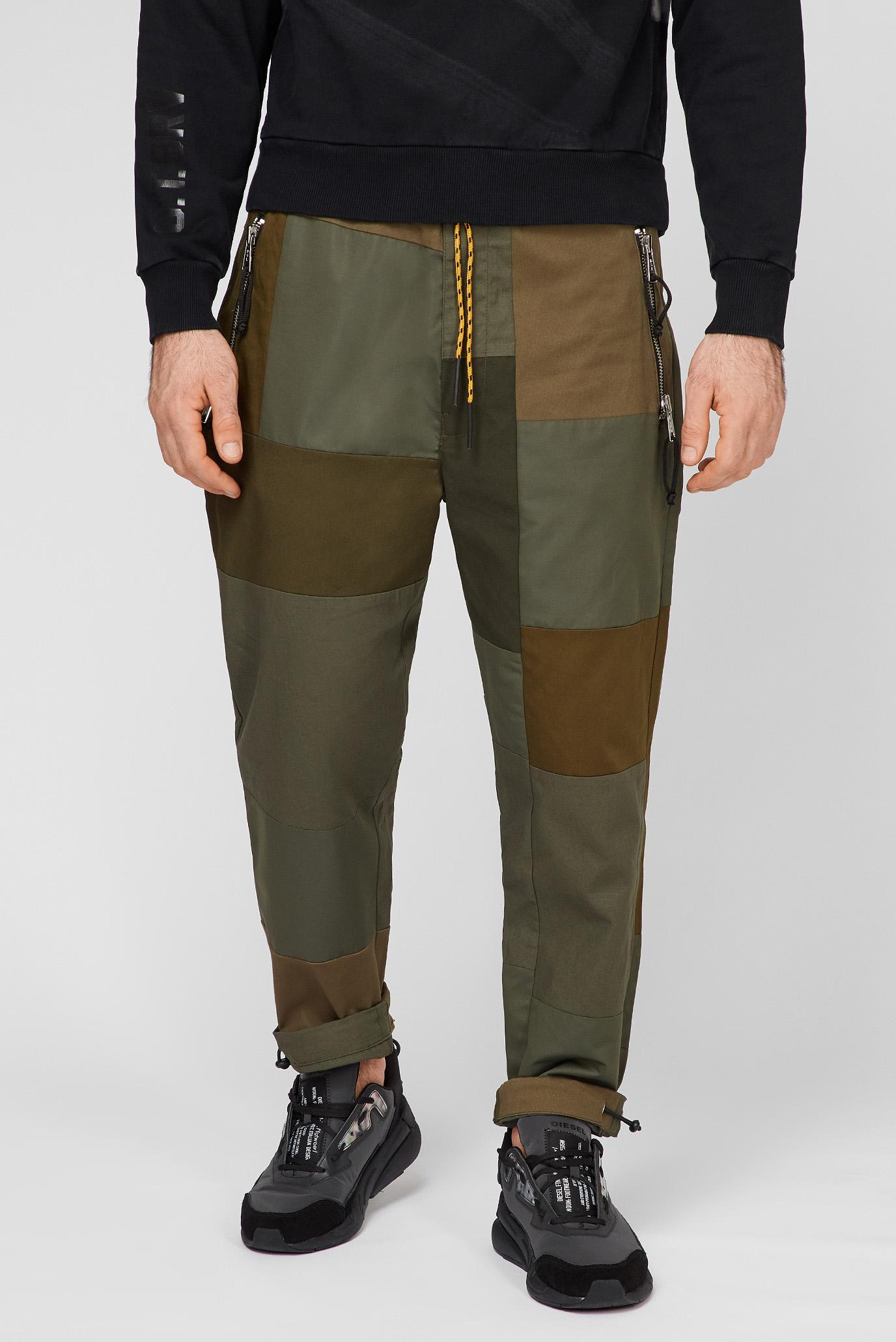 Мужские зеленые брюки P-HOR TROUSERS 1