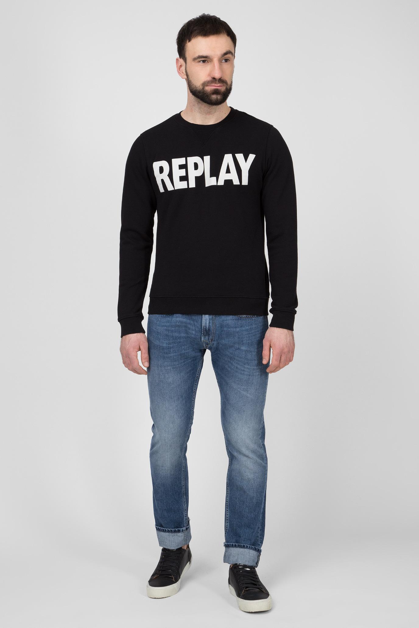 Мужские синие джинсы ROB Replay