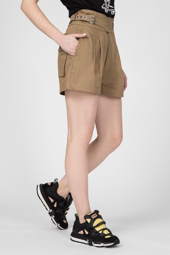 Женские коричневые шорты S-BISA