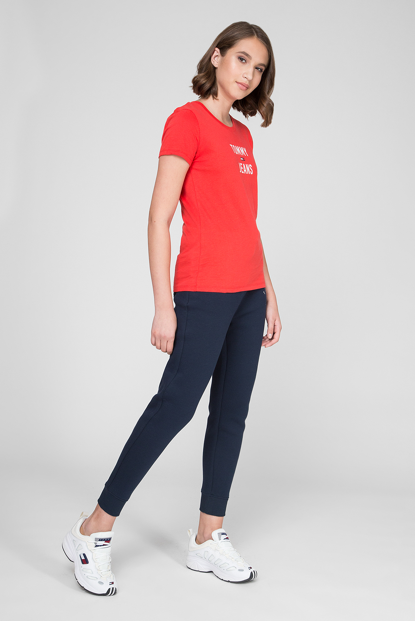 Женские темно-синие спортивные брюки TJW Tommy Hilfiger