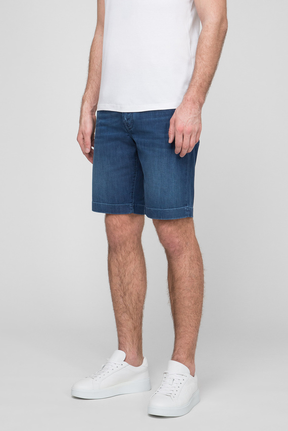 Мужские синие шорты