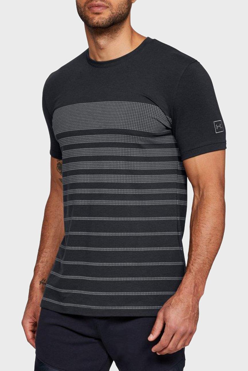 Мужская черная футболка SPORTSTYLE