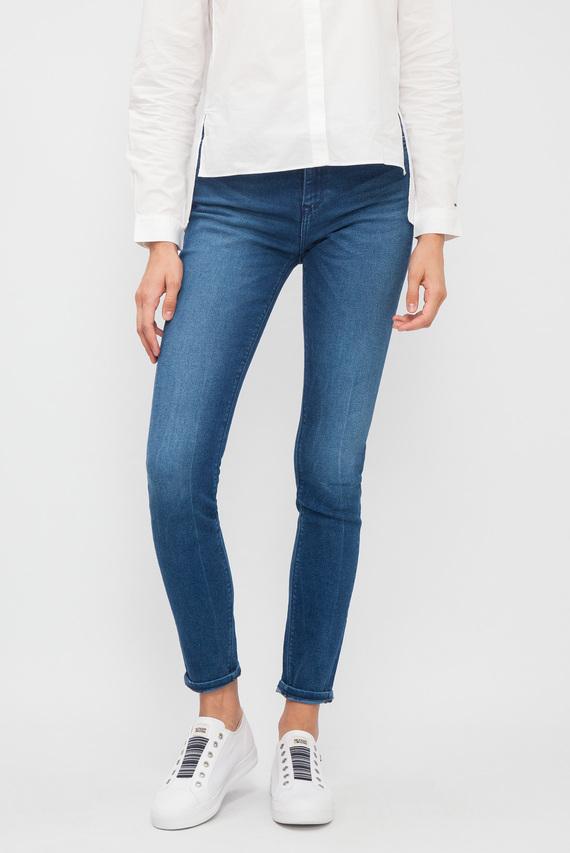 Женские синие джинсы HIGH RISE SKINNY SANTANA