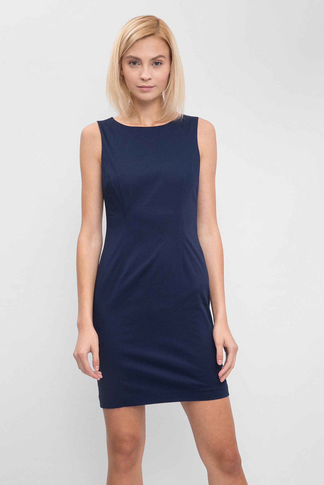 b3aa0e69a7d Купить Женское темно-синее платье-футляр Gant Gant 450971 – Киев ...