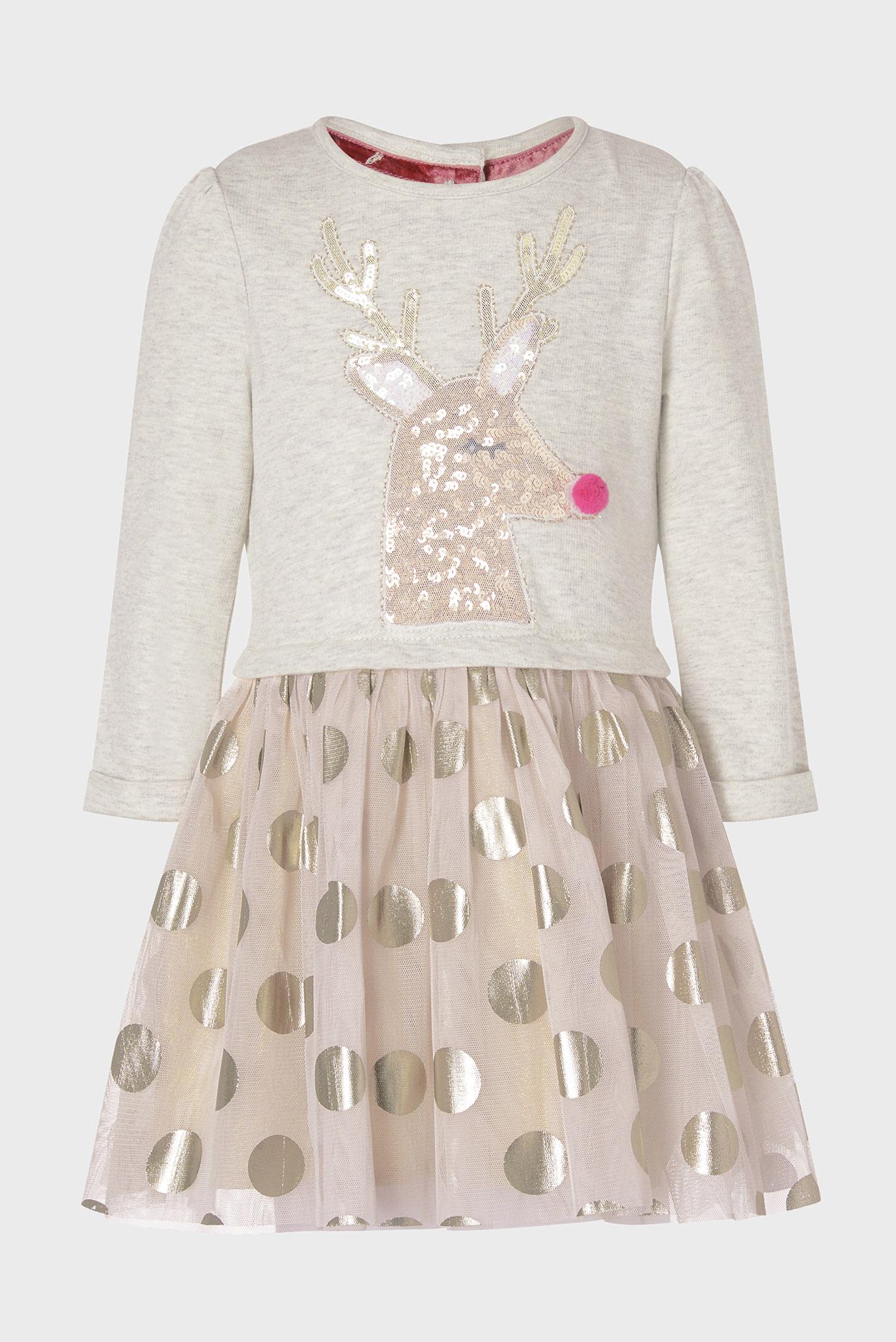 Дитяча бежева сукня BABY REINDEER DISCO 1