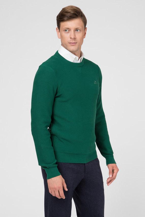 Мужской зеленый джемпер