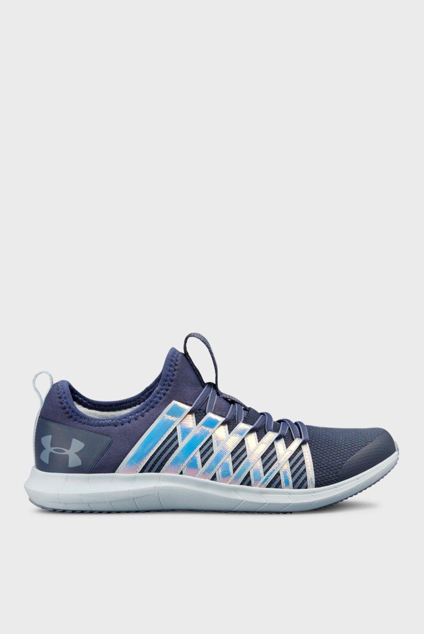 Детские синие кроссовки UA GGS Infinity HG