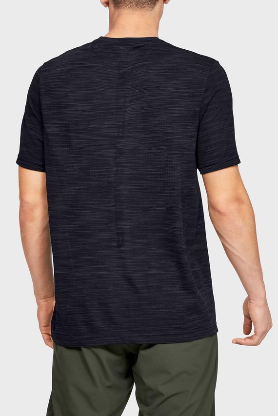 Мужская черная футболка Vanish Seamless SS Nov 1