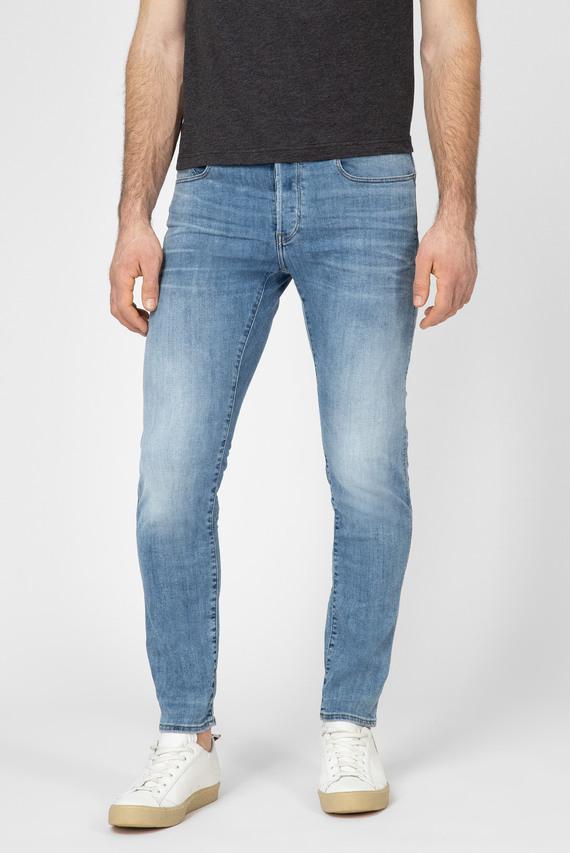 Мужские голубые джинсы 3301 Slim 8436