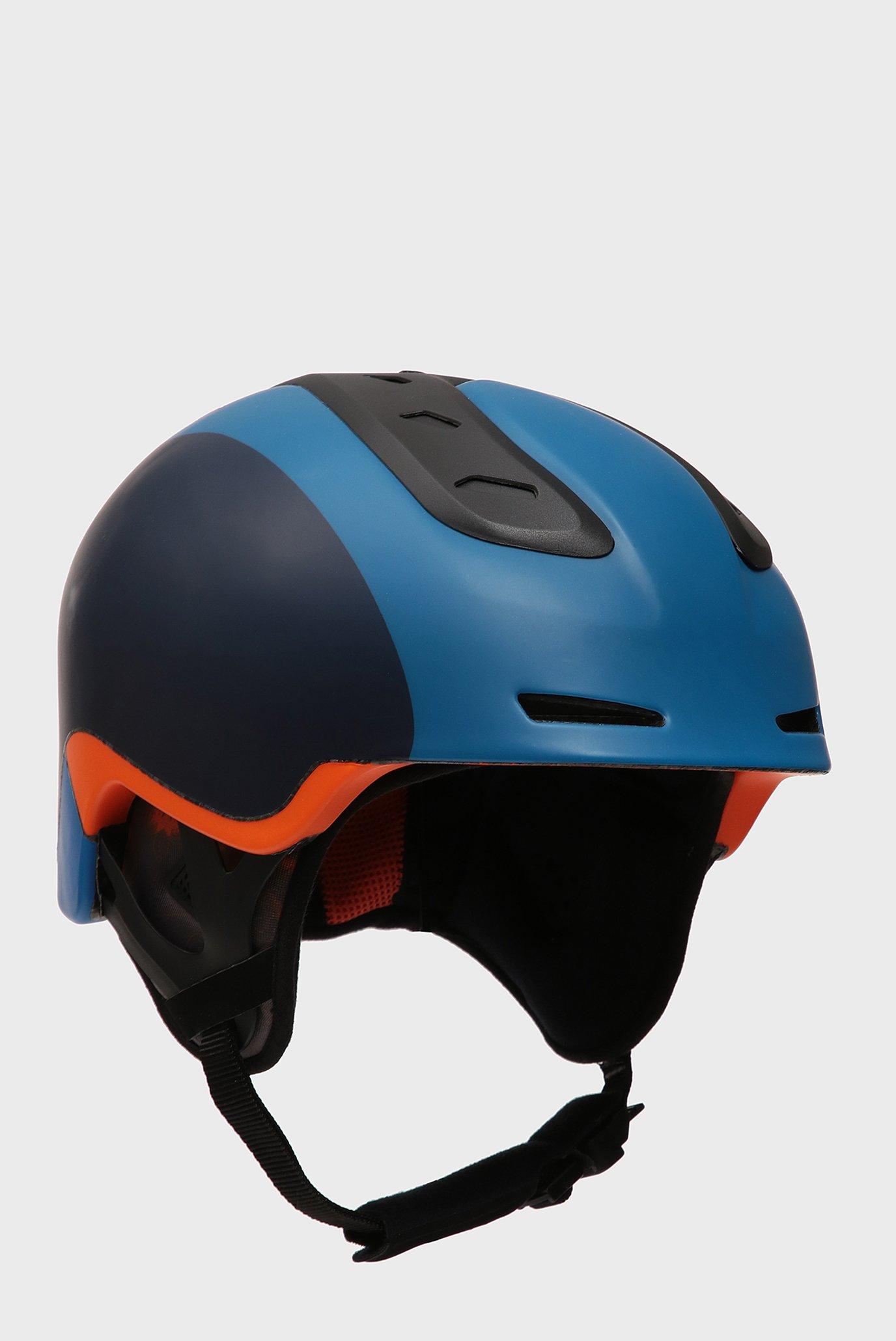 Дитячий синій гірськолижний шолом SPINE 1