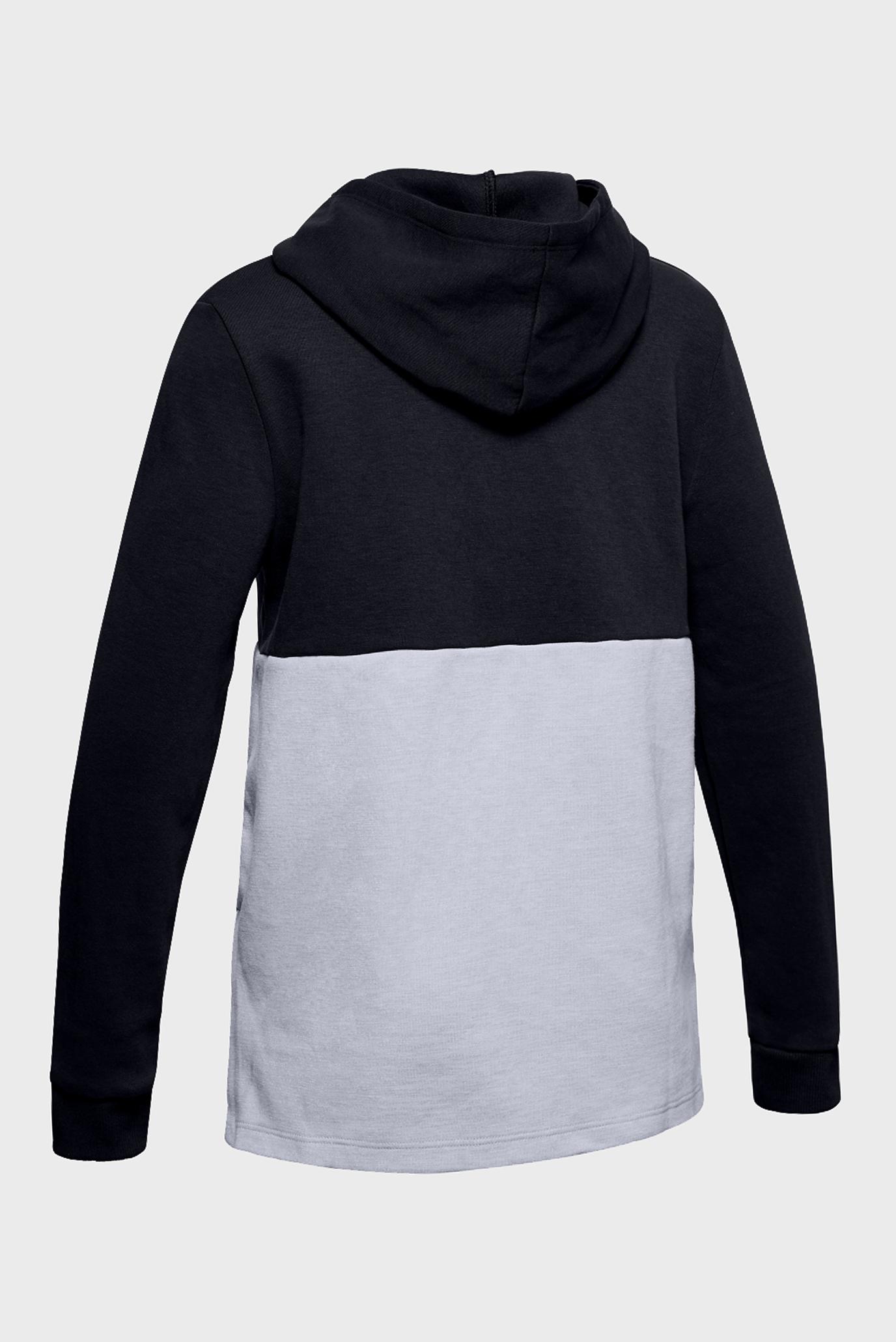 Купить Детское черное худи Unstoppable Double Knit Hoody Under Armour Under Armour 1327374-001 – Киев, Украина. Цены в интернет магазине MD Fashion