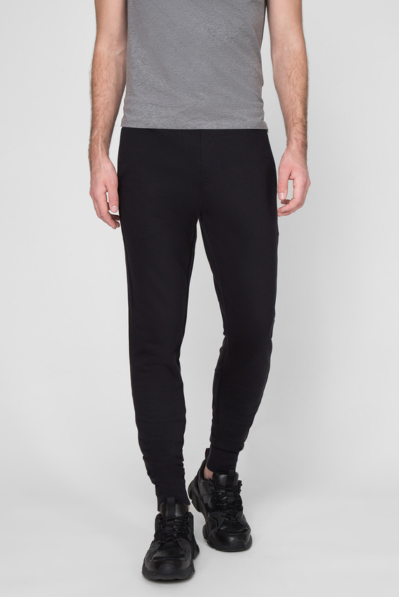 Мужские черные спортивные брюки 2 MB TECH FLEECE