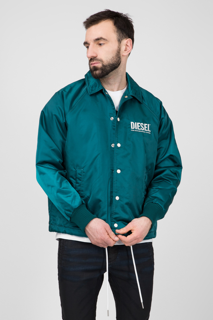 Мужская зеленая куртка J-AKIO