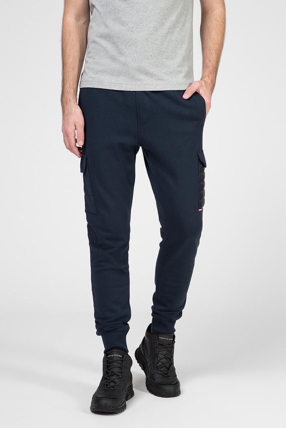 Мужские темно-синие спортивные брюки MIXED MEDIA