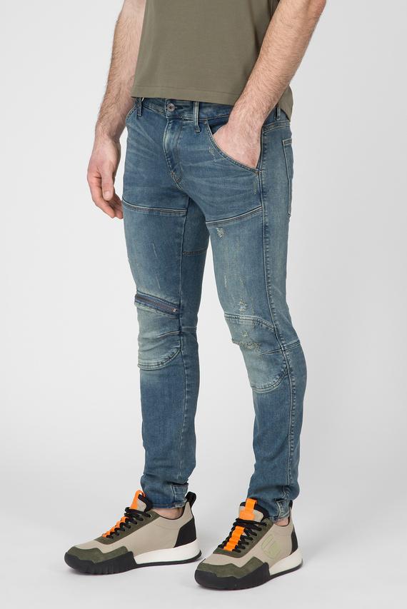 Мужские голубые джинсы 5620