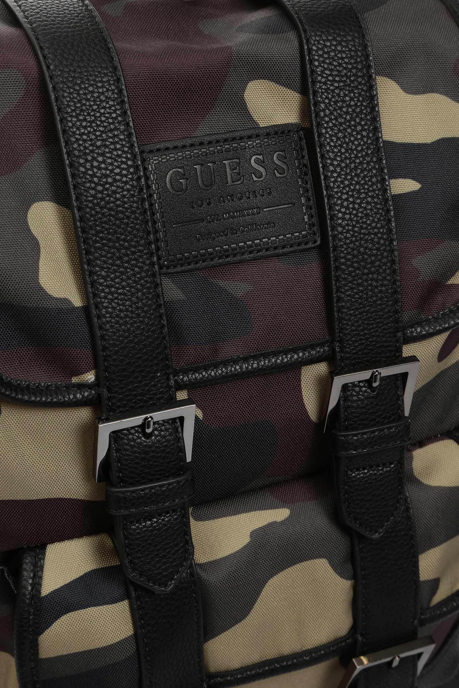 Мужской камуфляжный рюкзак NEW PHIL CAMOU BACKPACK Guess