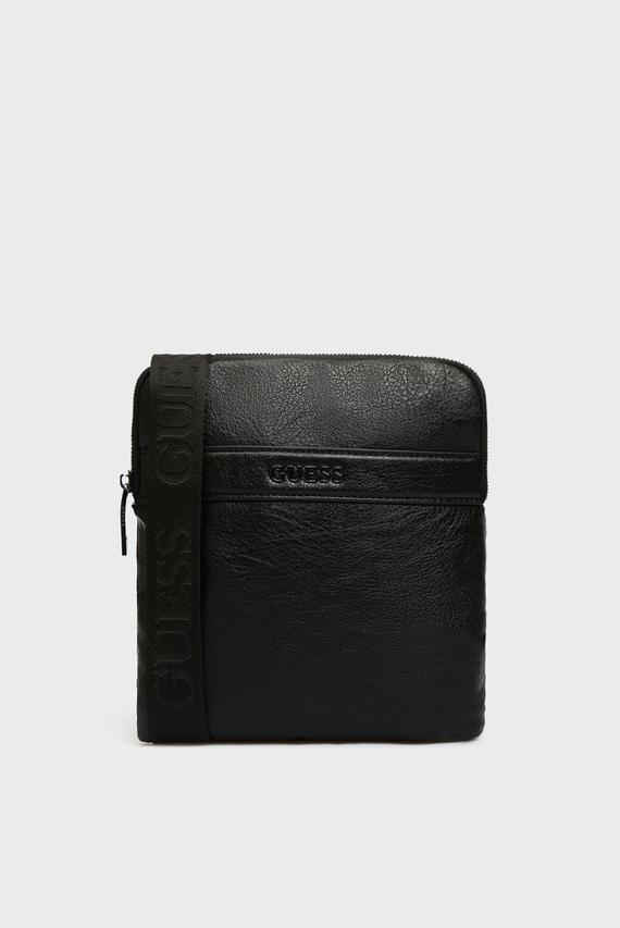 Мужская черная сумка через плечо CITY MINI FLAT CROSSBODY