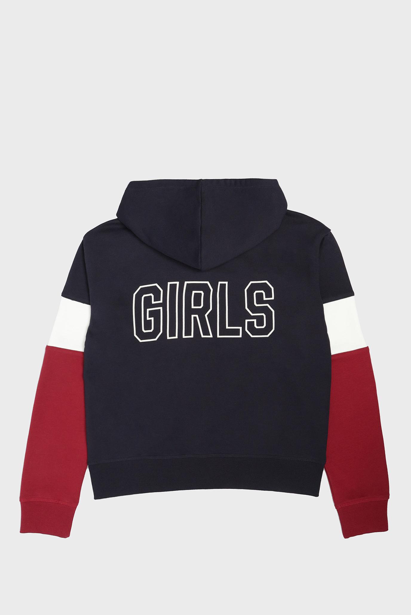 Купить Детское темно-синее худи GANT GIRLS BLOCK Gant Gant 606755 – Киев, Украина. Цены в интернет магазине MD Fashion