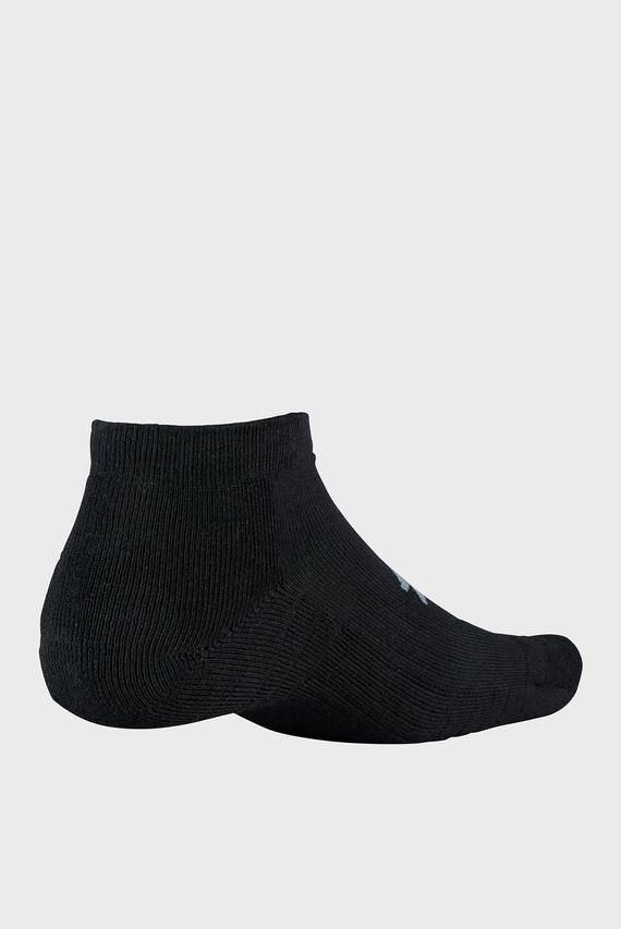 Черные носки UA Training Cotton Locut