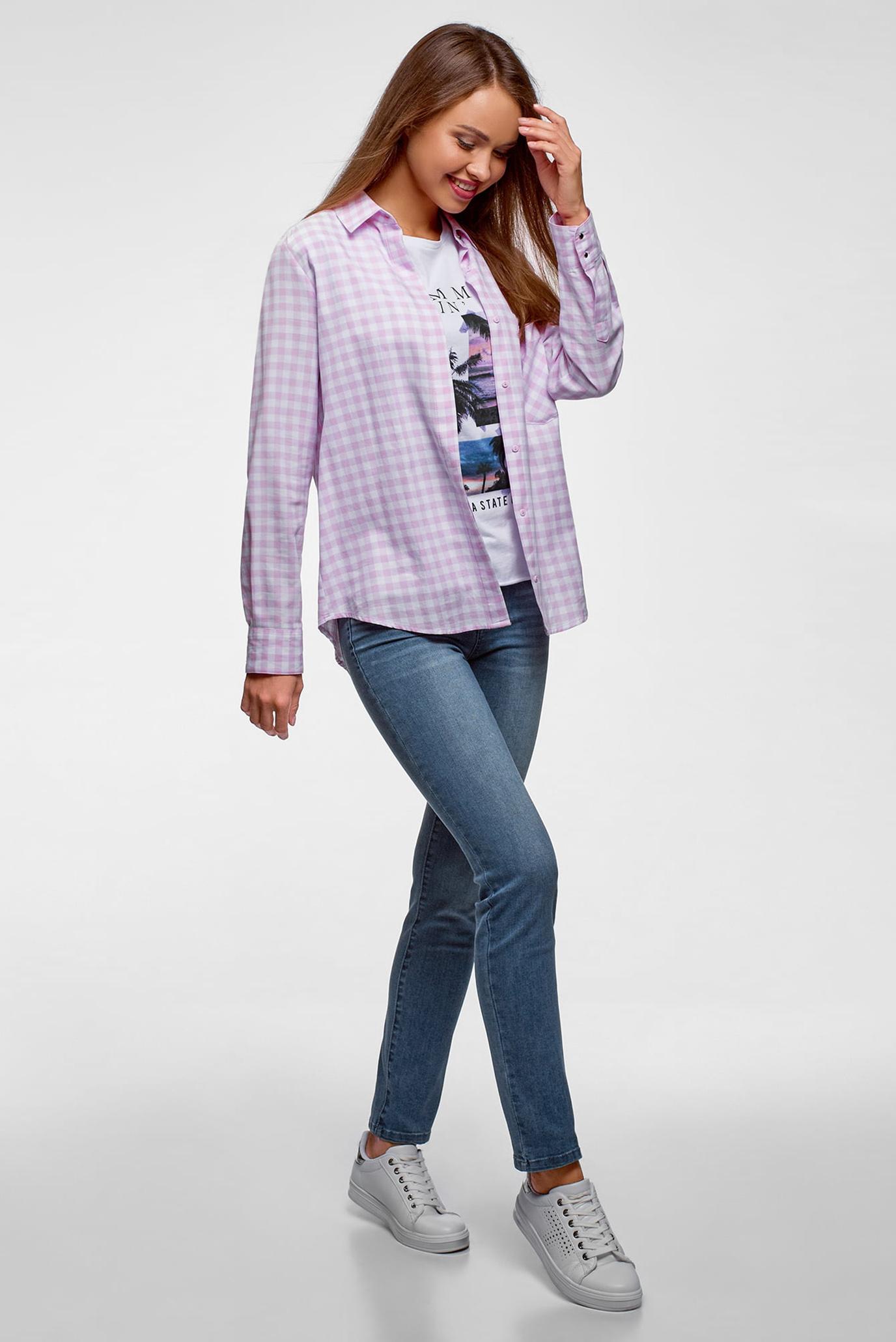 Купить Женские синие джинсы скинни Oodji Oodji 12101148B/46785/7500W – Киев, Украина. Цены в интернет магазине MD Fashion