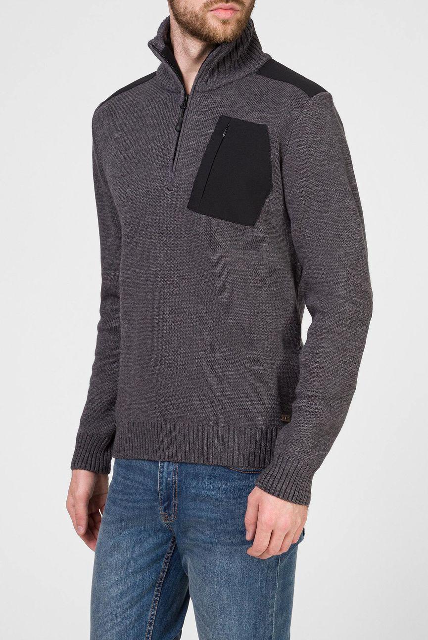 Мужской темно-серый свитер