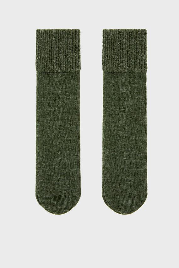 Женские зеленые носки MERINO WOOL SPARKLE